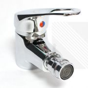 Modern Bathroom Bidet Mixer Tap in Chrome 360° Nozzle